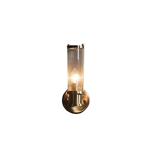 Lámpara De Pared con Faro De Espejo Minimalista De Luz De Espejo De Cobre para Sala De Estar, Dormitorio, Baño, Espejo, Luz Frontal (Color: Dorado, Tamaño: 115 Pulgadas)