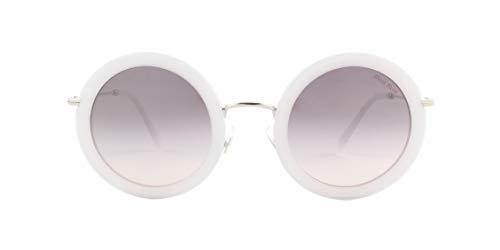 Miu Miu 0MU 59US Gafas, White/Grey Shaded, 48 para Mujer