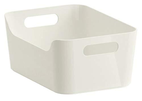 IKEA VARIERA 24x 17x 11cm weiße Boxim Hochglanz –(24x 17x 11cm)