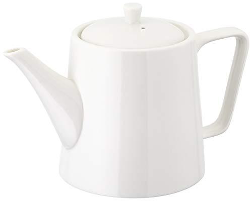 Judge Essentials, teiera per servizio da tè tradizionale in porcellana bianca, Porcellana, 3 Cup / 600ml