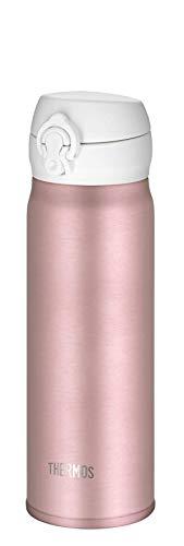 THERMOS 4035.284.050 Thermosflasche Ultralight, Edelstahl Mat Rosé Gold 0,5 l, extrem leicht, nur 210 g, 10 Stunden heiß, 20 Stunden kalt