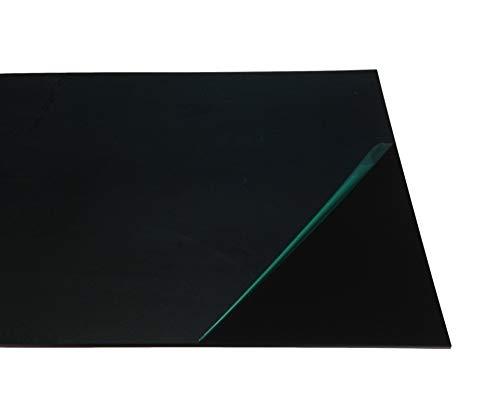 Werbefläche 3,0 mm Forex ® color schwarz HartschaumPlatte Tafelformat 1560 x 600 mm Schafenstergestaltung PVC