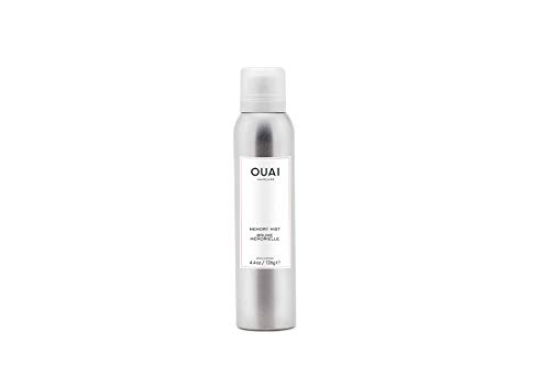 OUAI Memory Mist. An Incredible Multi-Purpose Priming Spray that Provides Heat Protection, Strong Hold and Shine. Great for Colored Hair and All Hair Types. Free from Parabens (4.4 oz)