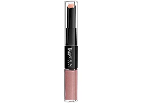 L'OREAL PARIS Infallible 2Step Lipstick, Permanent Blush, Pack of 1