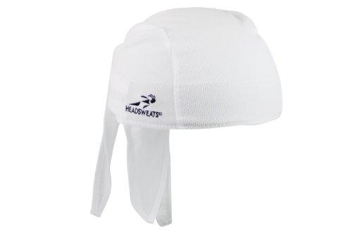 Headsweats Classic Bandana Piraten-Kopftuch, Weiß, One Size, 8800 801