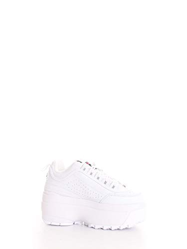Luxury Fashion | Fila Dames 10108651FG Wit Leer Sneakers | Lente-zomer 20