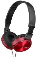 Sony MDR-ZX310R - Auriculares de diadema cerrados (sin micrófono), rojo