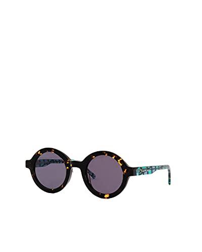 Flamingo Eyewear Gafas de sol modernas redondas modelo Venice Playground para hombre y mujer
