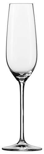Schott Zwiesel FORTISSIMO Champagneglas, Tritan Kristalglas, Transparente, 7.4 cm, 6