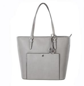 MICHAEL Michael Kors Jet Set Large Snap Pocket Tote (Celadon)