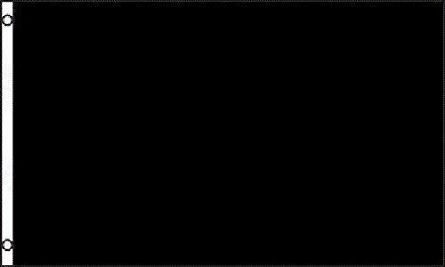 AZ FLAG Bandera del COMISARIO DE Pista Negra 90x60cm - Bandera CAMISARIOS DE Carreras - Formula 8 60 x 90 cm