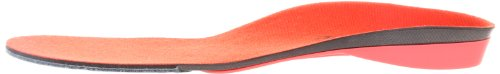 Superfeet Men's Orthotic Insole, Red (Red Hot), F (UK 10-11.5)