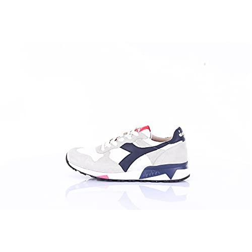 Diadora 176281 Sneakers Basse Uomo Beige e Blu 40