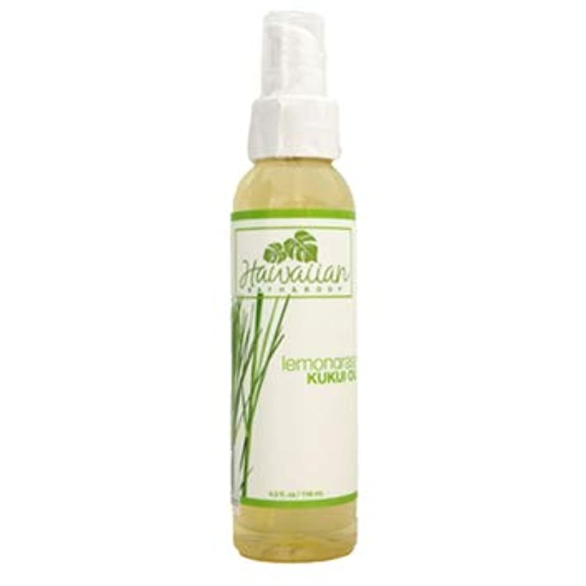 物質なめらかなスツールhawaiian bath&body KUKUI OIL ククイオイル レモングラス 4oz(118ml)