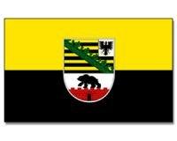 Flagge 90 x 150 : Sachsen-Anhalt