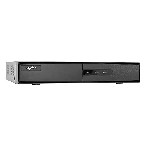 SANNCE 16 Channel 1080P Lite H.265+ Hybrid 5-in-1 Security DVR Recorder Remote Access Motion Alert, Home CCTV DVR for 2MP TVI AHD CVI IP Surveillance Cameras(NO Hard Drive)