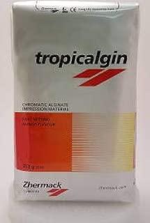 Zhermack Tropicalgin Color Changing, Alginate Refill, Red, Orange, Yellow, 453g (1 lb) Bag C302240