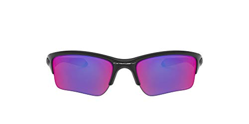 Oakley Quarter Jacket 920018 Gafas de Sol, Hombre, Polished Black, 61