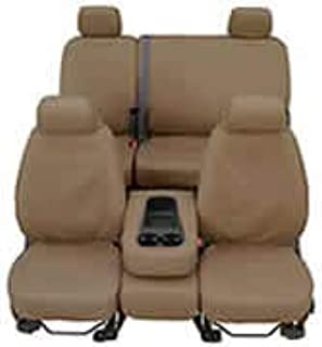 Covercraft SeatSaver Seat Protector: 2001-04 Fits Toyota Tacoma Double CAB 60 (Polycotton, Taupe) (SS8332PCTP)