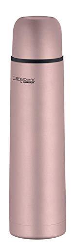 ThermoCafé Thermosflasche Edelstahl Everyday, Edelstahl rosa 700ml, Isolierflasche 4058.284.075 auslaufsicher, Thermoskanne mit Becher hät 12 Stunden heiß, 24 Stunden kalt, BPA-Free