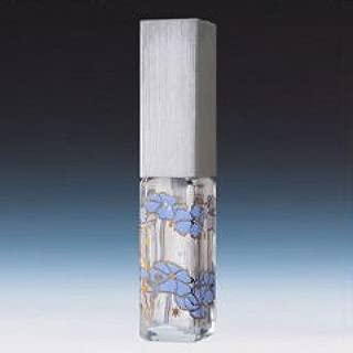 【ヤマダアトマイザー】メタルアトマイザー メタルポンプ 20510 角ビン転写・ポピー キャップヘアラインシルバー 4ml