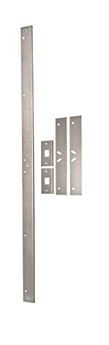 Door Armor MAX – Complete Door Reinforcement Set For Jamb, Frame, Strike Plate — DIY Home Door Security – Satin Nickel