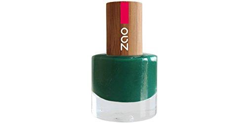 ZAO Nagellack 648 jade mit Bambus-Deckel (7-free, vegan) grün