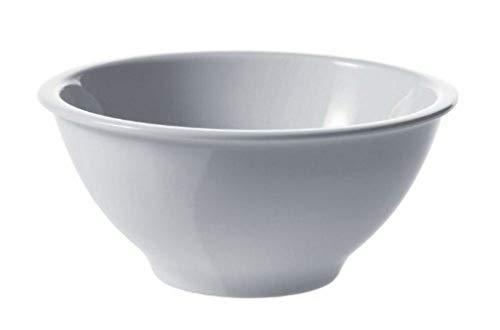 Alessi Ajm28/54 Platebowlcup Coupelle en Porcelaine Blanche, Set de 4 Pièces