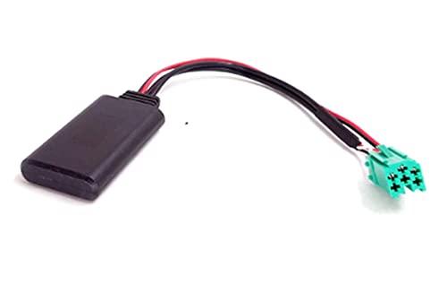 WANSHIDA QiQi Shop Cable Bluetooth Módulo Aux Adaptador Cable Adaptador para Renault Megane Laguna Clio Espace 2005 a 2011 Modelos de actualización Radio