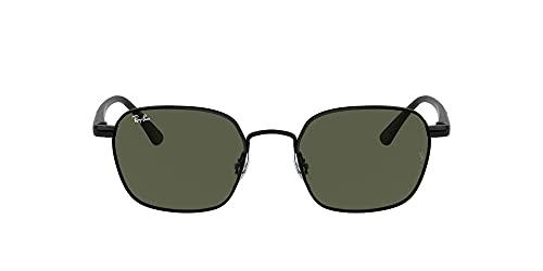Ray-Ban Gafas de Sol RB 3664 Black/Green 50/19/145 unisex