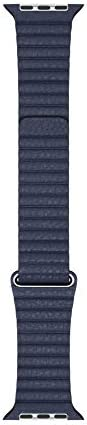 Apple Watch Leather Loop 44mm Diver Blue Medium product image