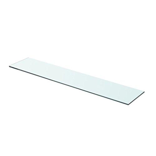 vidaXL Glasboden Glasscheibe Glasplatte für Glasregal Transparent 70 cm x 15 cm