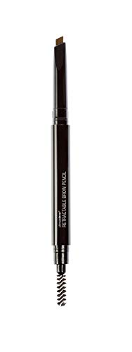 Wet n Wild - Ultimate Brow Retractable Pencil - Lápiz para Cejas Marrones - Retráctil, Ultrapreciso, con Punta de Lápiz Triangular, Pigmentado, Define Perfectamente - Ash Brown - 1 Unidad