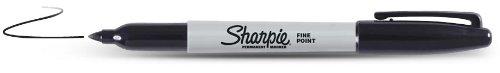 Sharpie - SHARPIE - Marqueur fin noir