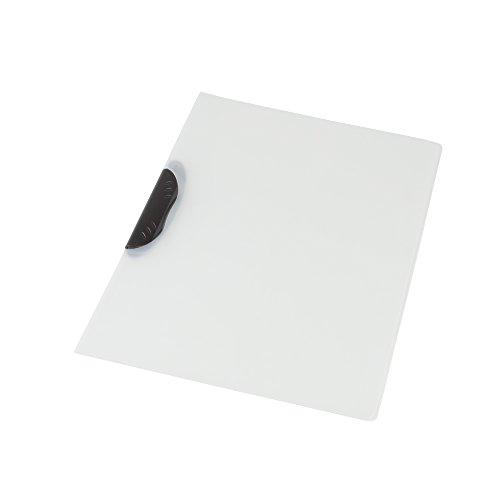 Pryse 4310001 - Dossier pinza para 30 hojas, A4, color blanco