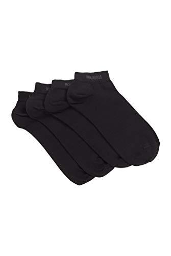 BOSS Herren 2P AS Uni CC Zweier-Pack Sneakers-Socken aus elastischem Baumwoll-Mix