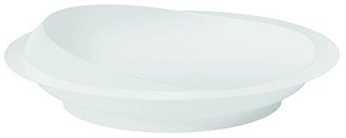 Mobiliteit Keuzes Witte Scoop Plate met Antislip Zuignap