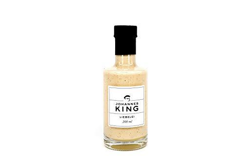 KINGS Liebelei, 8% Alkohol mit frischer Vanille und Rum (200 ml), selbstgemachte Köstlichkeit aus der Sylter Sterneküche – die beste Alternative zu Eierlikör