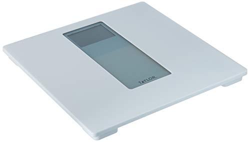 Taylor Precision Products Digitale Personenwaage, Kunststoff, Weiß/Grau