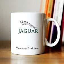 N\A Taza de café Personalizada con Logotipo de Jaguar Divertida Taza de café de Regalo