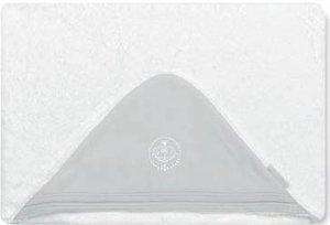 Bimbi Elite – Maxicapa, 100 x 100 cm, blanc et gris