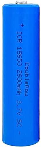 18650 Batteria Da 3.7 V 2600Mah 18650 Batteria Ricaricabile Al Litio 3.7 V Batterie Agli Ioni Di Litio-8Pcs.