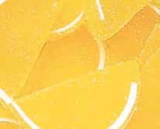 Yellow Lemon Fruit Jell Slices 1LB Bag
