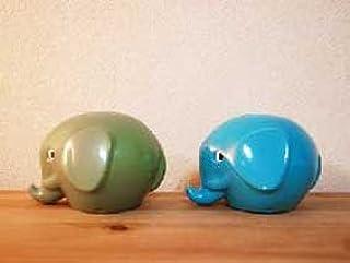 Norsu ぞうの貯金箱 ブルー