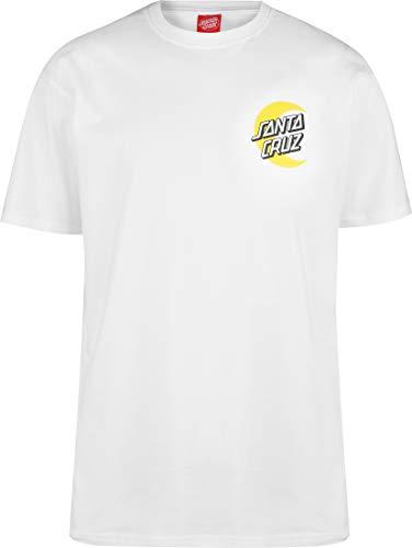 SANTA CRUZ DOT T-Shirt White