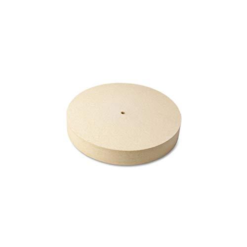 The Felt Store - Disco abrasivo di feltro, diam.: 125 mm, espesor: 20 mm