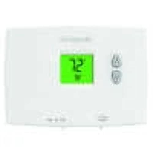 Honeywell TH1110DH1003/U TH1110DH1003 Backlit, 1H/1C, Dual Powered Horizontal PRO 1000 Non-Programmable Thermostat, Premier White