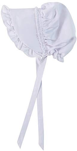 Deluxe Bonnet, Girls 8-14 Years, White