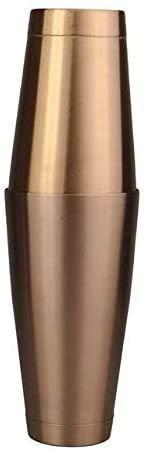 FEE-ZC Cocktail Shaker, 3 Taille en Acier Inoxydable Cocktail Shaker Mélangeur Wine Shaker Bar Outils Bouteille De Vin Accessoires De Vin pour Barman Drink Party, 600 ML