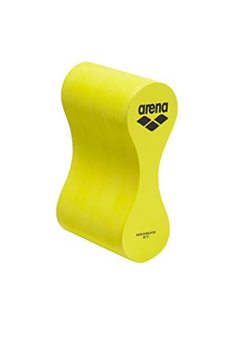 ARENA Zubehör Pool Club Kit Pullbuoy Trainingsmaterial, Unisex Erwachsene, Lime/Gelb, Einheitsgröße